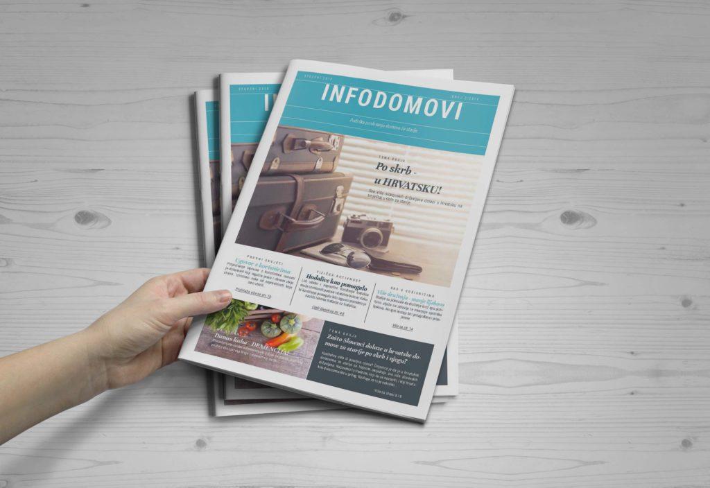 Časopis INFOdomovi-podrška poslovanju domova za starije